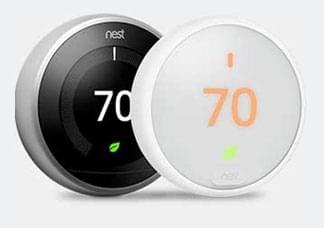 Nest smart thermostats