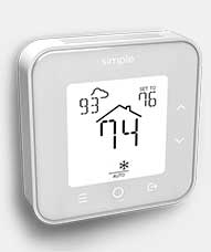 Simple smart thermostat