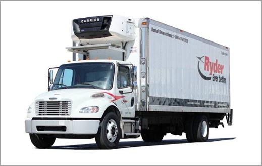 Image of Ryder truck